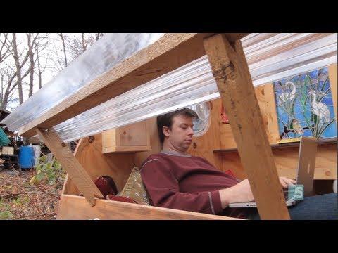 The 0 bedroom, 0 bathroom micro man cave - Offbeat Spaces video