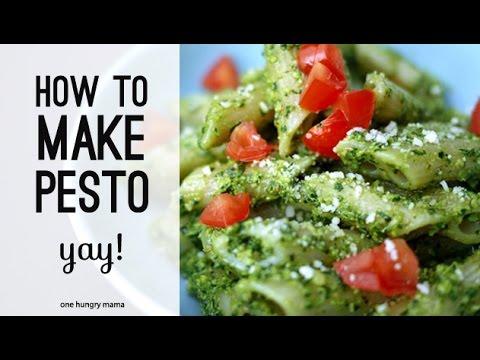 How to make pesto + the best pesto recipe | One Hungry Mama