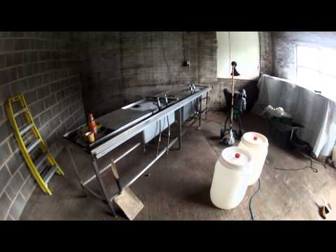 The beginnings of the new cider house take 2!