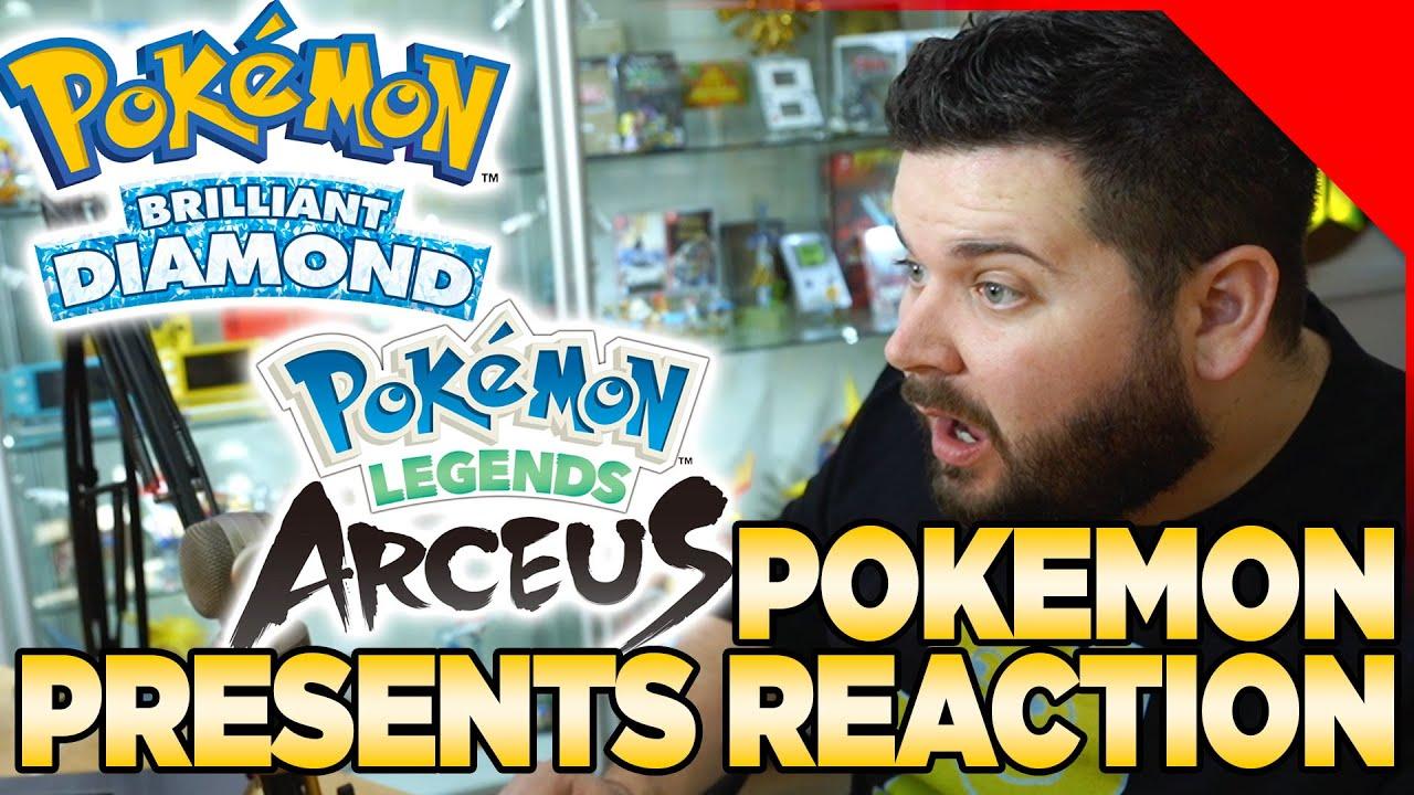 Pokemon Brilliant Diamond & Shining Pearl & Pokemon Legends Arceus Reaction | Austin John Plays