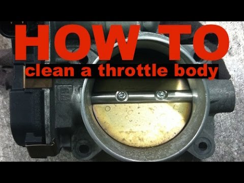 Chevy Equinox / GMC Terrain - How to Clean the Throttle Body
