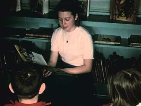 School Libraries in Action (1961) - Libraries in 1960s - CharlieDeanArchives / Archival Footage
