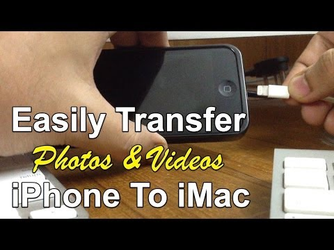 How To Transfer Photos & Videos From Iphone/iPad To Mac Easily - Import Pictures Quick iMac Tip