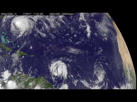 GOES-East Video de Jose e Maria
