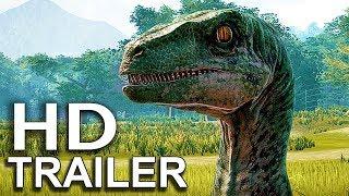 JURASSIC WORLD EVOLUTION Species Trailer (2018) Jurassic Park