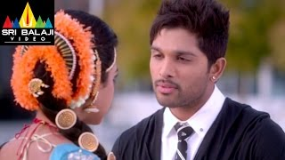 Iddarammayilatho Movie Brahmi, Arjun and Amala Paul Scene | Allu Arjun, Amala Paul
