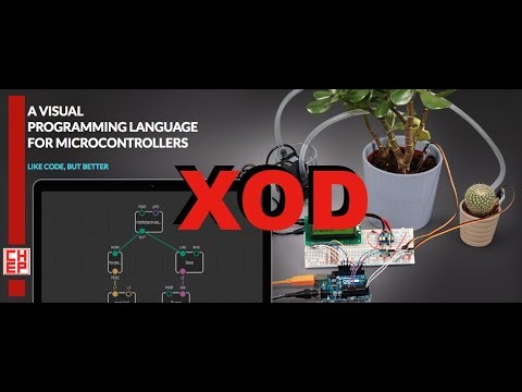 XOD - Visual Programming for Arduino