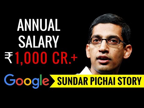 SUNDAR PICHAI BIOGRAPHY | SUCCESS STORY OF GOOGLE CEO| NET INCOME $150+ DOLLARS