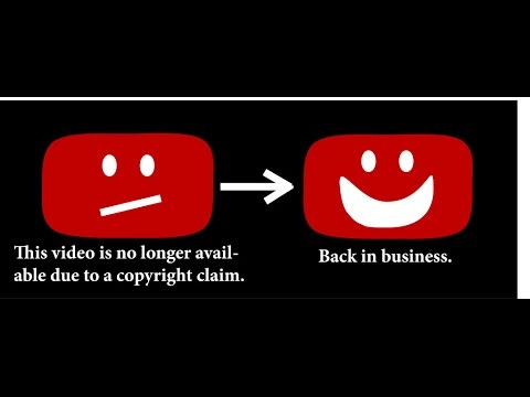 how to YouTube copyright video
