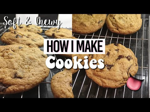 HOW I MAKE COOKIES - VERY EASY & CUSTOM (soft, chewy & amazing!)