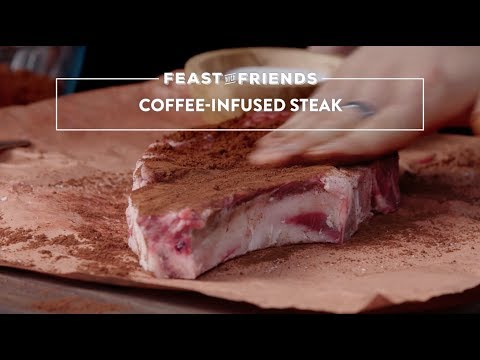 How To Make Coffee Infused Steak | Genius Kitchen