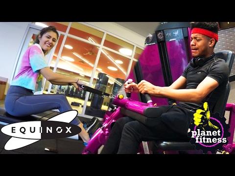 Planet Fitness vs Equinox Gym Comparison