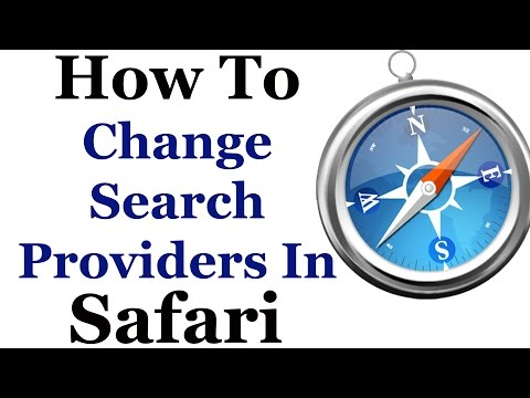 How To Change Your Default Search Engine In Apple Safari