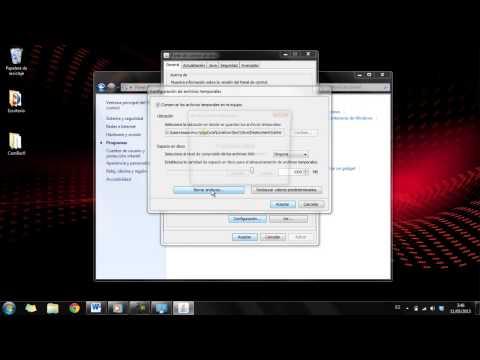 Como borrar la cache de JAVA en Windows 7