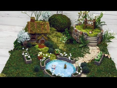 How to Make A Natural Fairy Garden