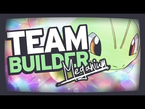 Pokemon Team Building | Heart Gold Soul Silver | Chikorita, Bayleef & Meganium