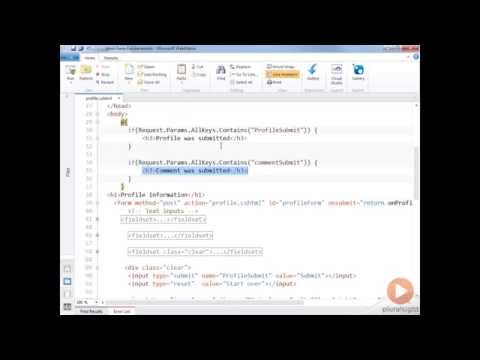 Handling Submit with multiple HTML Forms | Pluralsight