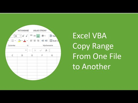 Excel VBA - Copy Range From One File to Another