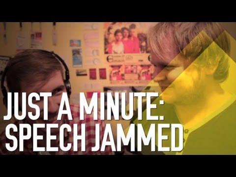 Just a Minute: Speech Jammed