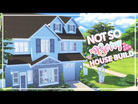 The Sims 4 - Not So Berry Challenge HOUSE BUILD | Mint