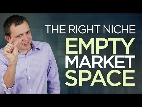 Choose the Right Niche or Category for Your Blog (Empty Market Space)