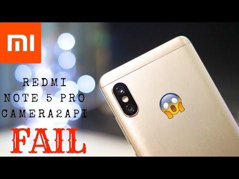 Redmi Note 5 Pro Google Camera FAIL! Camera2API Broken.