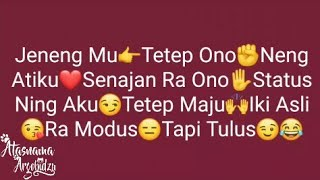 Caption Jawa Galau Lucu 2