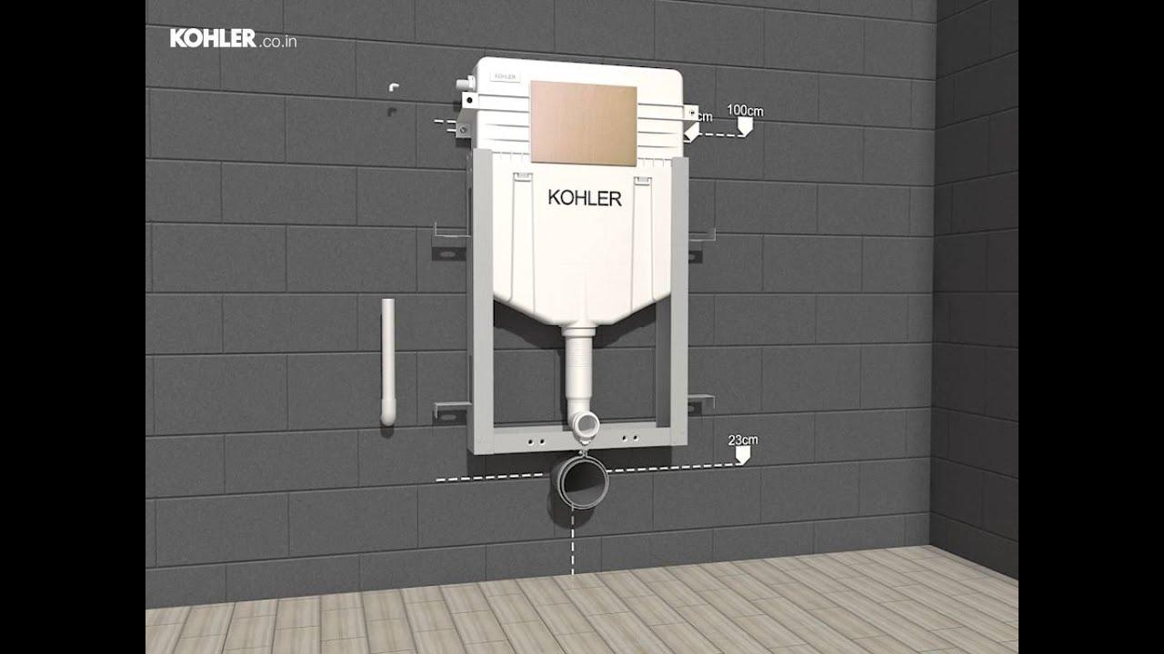Instafit Installation video by Kohler