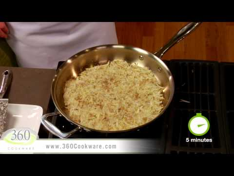Crispy Hash Browns | Quick Recipes with 360 Cookware