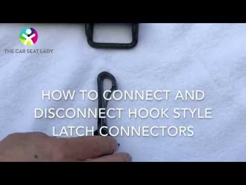 LATCH hooks on car seats: tricks to connect and disconnect them easily - The Car Seat Lady