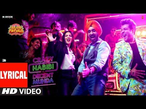 Xxx Mp4 LYRICAL Crazy Habibi Vs Decent Munda Arjun Patiala Guru Sunny L Diljit D Varun S Sachin Jigar 3gp Sex
