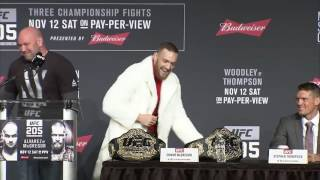 Download UFC 205: Connor McGregor; Sorry i'm Late Video