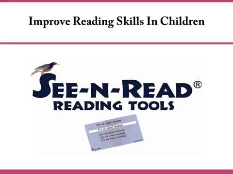 Improve Reading Skills In Children