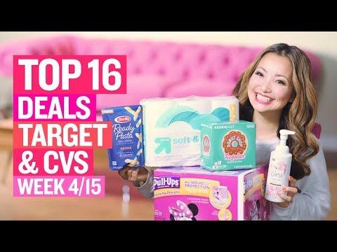 ★ Top 16 Target & CVS Coupon DEALS (Week 4/15 – 4/21)