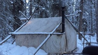Canvas Tent With Wood Stove- Are You Ready?