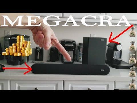The BEST Budget SoundBar & Wireless Subwoofer For Your Home - Megacra Soundbar