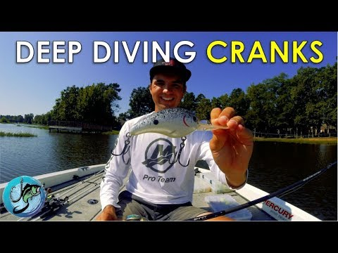 My Favorite Deep Diving Crankbaits and Where to Throw Them