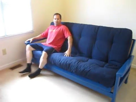 Futon Mattress Unboxing & Review 9