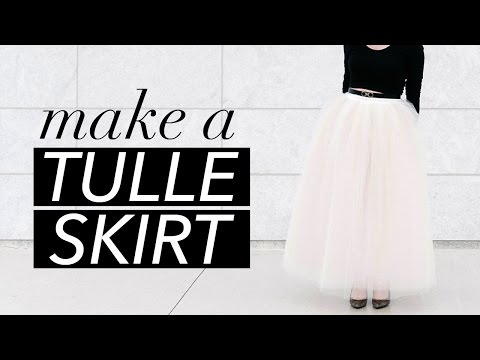 How to Make a Tulle Skirt | WITHWENDY