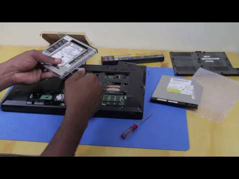 Lenovo B590 laptop hard drive upgrade (2 x Hard drives)