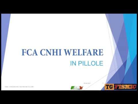 WELFARE FCA CNHI IN PILLOLE