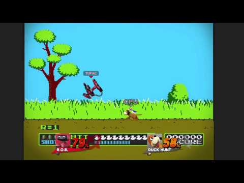 Super Smash Bros for Wii U #47 - Unlocking Duck Hunt Dog (All Characters!)