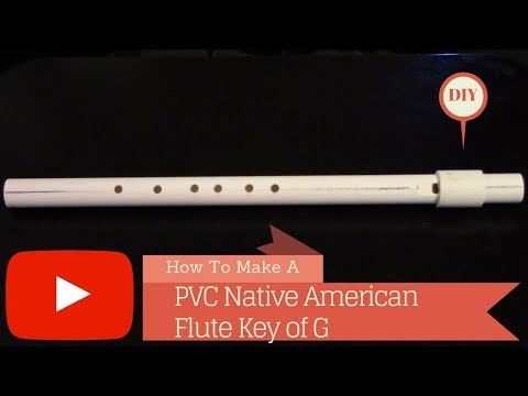 Native american style PVC Flute Key of G!!