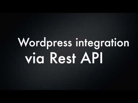 gikApp - React Native Wordpress Integration via REST API (Version 2)
