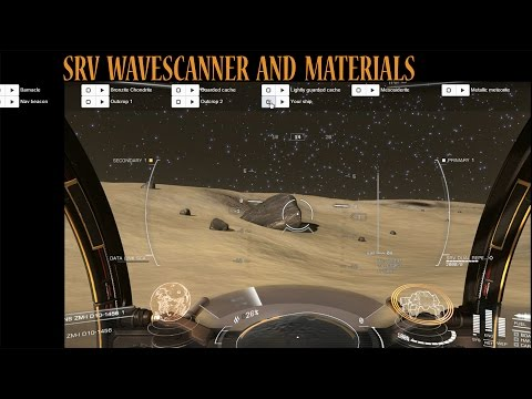 Elite: Dangerous. Useful 3rd party tools. SRV wave scanner and where to look for materials