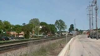 Amtrak 7 Rolls West Thru