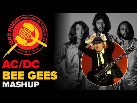 Stayin' in Black (The Bee Gees + AC/DC Mashup by Wax Audio)