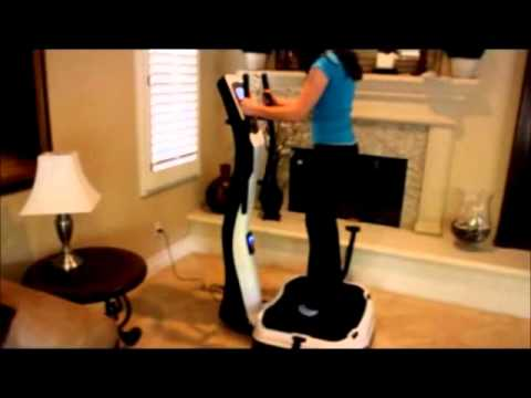Whole Body Vibration Exercises - Vibration Machine Fitness Review