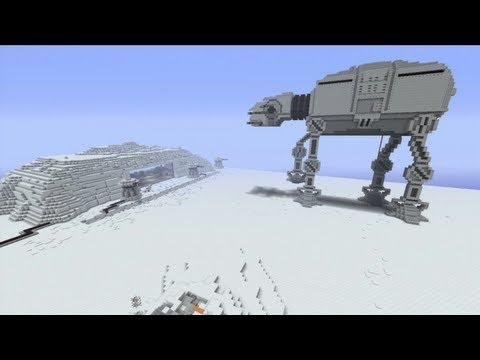 Minecraft Xbox - Hoth - Star Wars World Tour - Part 4