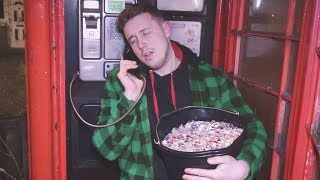 I Spent the Night in a Phone Box & Wasn't Allowed to End the Call (Payphone Challenge)